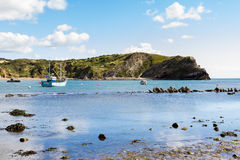 Lulworth Cove Dorset Royalty Free Stock Images