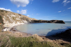 Lulworth Cove Dorset Coast England Royalty Free Stock Images