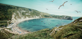 Lulworth Cove Stock Image