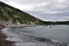 Lulworth cove, Dorset. Royalty Free Stock Images