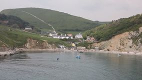 Lulworth Cove harbour Dorset England UK Royalty Free Stock Photo