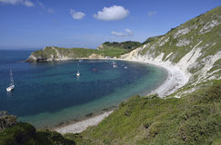 Lulworth Cove Royalty Free Stock Images