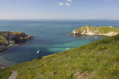 Lulworth Cove Royalty Free Stock Photo