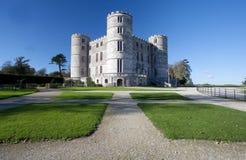 Lulworth slott Dorset royaltyfri foto