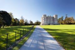 Lulworth slott Dorset royaltyfri fotografi