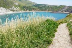 Lulworth zatoczka i Jurajski wybrzeże Obraz Royalty Free