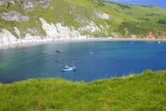 Lulworthinham - Mooie stranden van Dorset, het UK royalty-vrije stock foto