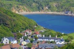 Lulworthinham - Mooie stranden van Dorset, het UK royalty-vrije stock fotografie