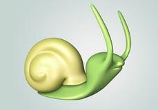 lumaca verde 3D Fotografie Stock