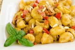 Lumache with carlofortina sauce Stock Photo