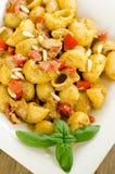 Lumache with carlofortina sauce Royalty Free Stock Photo