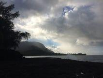 Lumahai Beach on Kauai Island, Hawaii. Stock Image