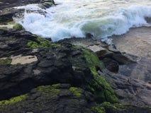 Lumahai Beach on Kauai Island, Hawaii. Stock Photo