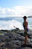 Lumahai Beach royalty free stock image
