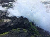 Lumahai plaża na Kauai wyspie, Hawaje Zdjęcie Stock