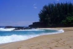 Lumahai surf Stock Photos