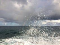 Lumahaistrand op het Eiland van Kauai, Hawaï Royalty-vrije Stock Foto's