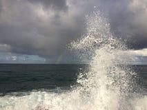 Lumahaistrand op het Eiland van Kauai, Hawaï Stock Foto's