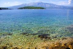 lumbarda пляжа Стоковое Фото