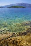 lumbarda пляжа Стоковые Изображения