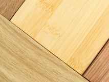 Lumber. Here is a stack of lumber of different designs Royalty Free Stock Photos