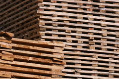 Lumber Drying Royalty Free Stock Images