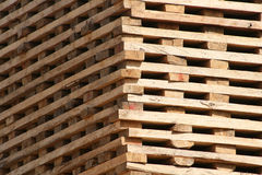 Lumber drying in the sun Stock Photo