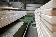 Lumber industry Royalty Free Stock Photography