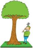 Lumber jack Royalty Free Stock Image