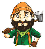 Lumber Jack. Ilustrator design .eps 10 Royalty Free Stock Photos