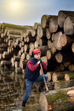 Lumber jack Royalty Free Stock Photography