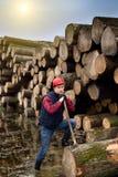 Lumber jack Royalty Free Stock Photography