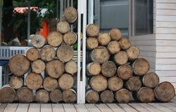 Lumber. Royalty Free Stock Photo