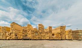 Lumber market Stock Photo