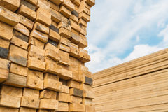 Lumber market Royalty Free Stock Photos