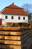 Lumber mill Royalty Free Stock Photo