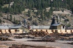 Lumber Mill Royalty Free Stock Photos