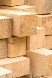 Lumber pile Stock Photo