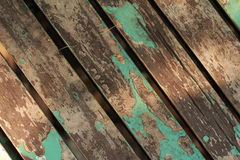 Lumber seat wood. Seat sunbeam sunshine wood nature Stock Photo