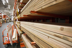 Lumber stack Stock Images