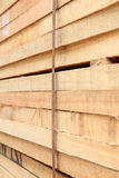 Lumber stack Royalty Free Stock Photo