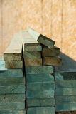 Lumber stack Royalty Free Stock Images