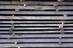 Lumber stack Royalty Free Stock Image