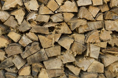 Lumber stacked Royalty Free Stock Photo