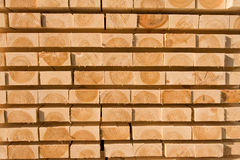 Lumber and timber Royalty Free Stock Images