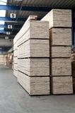 Lumber warehouse Royalty Free Stock Images