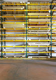 Lumber warehouse Stock Images