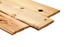 Lumber Wood Boards isolated on white close up stock photo