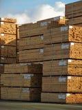 Lumber Yard Stock Image