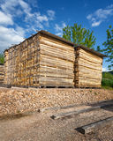 Lumber yard Royalty Free Stock Images